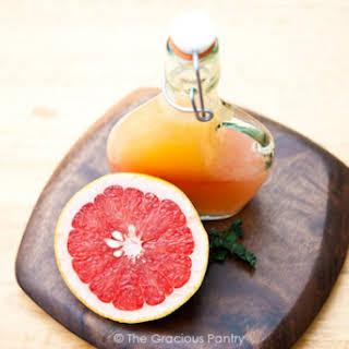 Clean Eating Grapefruit Vinaigrette.