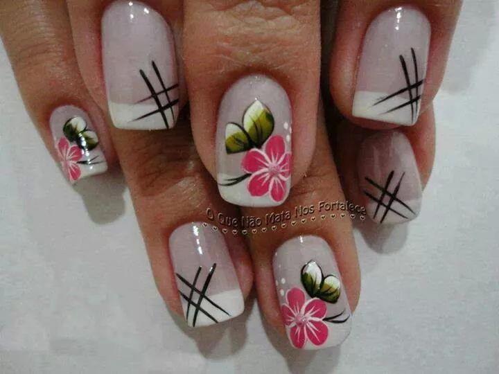 تحميل Uñas Decoradas Con Flores Diseños Uñas Con Flores Apk