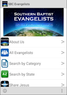 Southern Baptist Evangelists- screenshot thumbnail