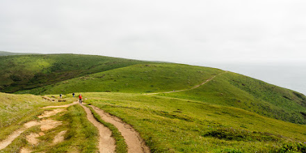 Photo: Looking back to the start of the trail