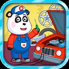 Servizio auto di Panda icon