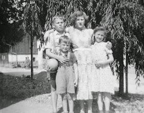 Photo: Franzi, Fritzi, Marianne und Stefanie