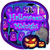 Happy Halloween Midnight Keyboard Theme