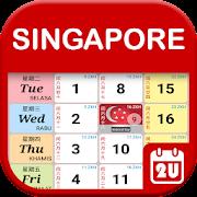 Calendar2U: Singapore Calendar 2019-2021