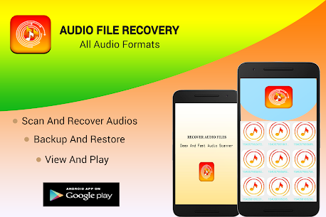 Audio Files Recovery- All audio Formats 5