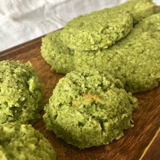 Coconut Kale Lime Cookies (Paleo, GF, Egg Free, Dairy Free).