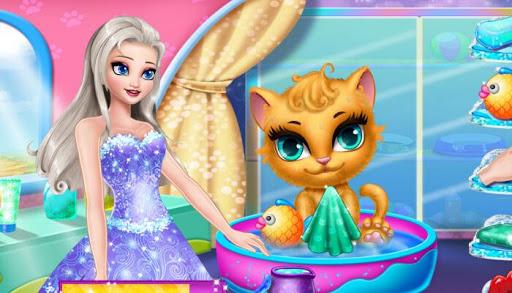 医生&清理猫 - 安吉拉女孩 玩休閒App免費 玩APPs