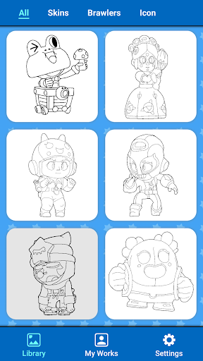 Coloring for Brawl Stars 0.1 screenshots 18
