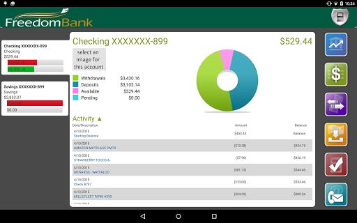 FreedomBank Iowa Tablet