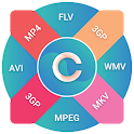 Video Converter & Cutter-All formats video convert icon