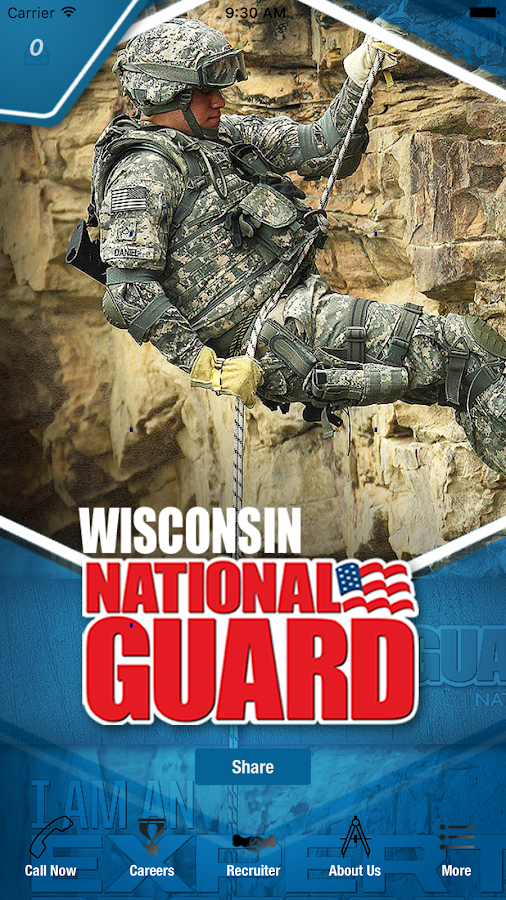 Wisconsin National Guard- screenshot
