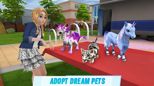 Virtual Sim Story: Dream Life MOD (Unlimited Gems) 3