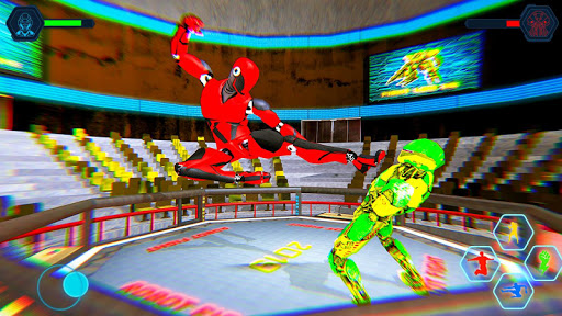 Real Robot fighting games u2013 Robot Ring battle 2019 apktram screenshots 3