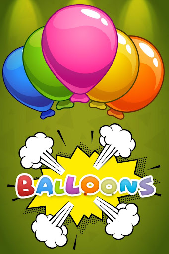 Balloon Pop  - educational game for Kids - screenshot