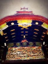 Photo: Nijo Castle, home of the shogun.  Gate.