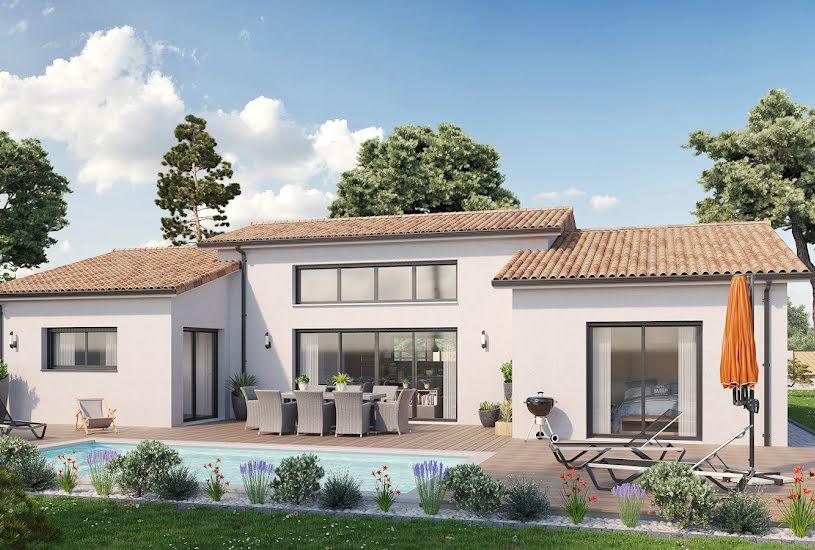 Vente Terrain + Maison - Terrain : 650m² - Maison : 123m² à Cussac-Fort-Médoc (33460)