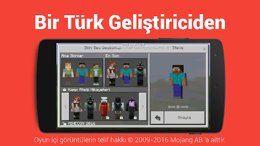 Türkçe Dil: Minecraft PE screenshot 5