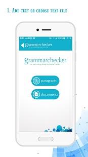 Grammar Checker - náhled