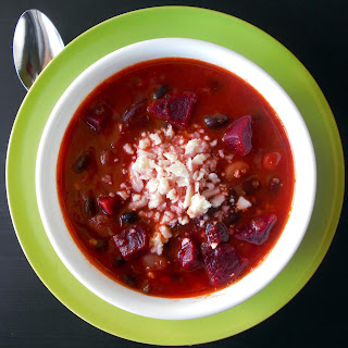 Vegetarian Chili Made With Beets