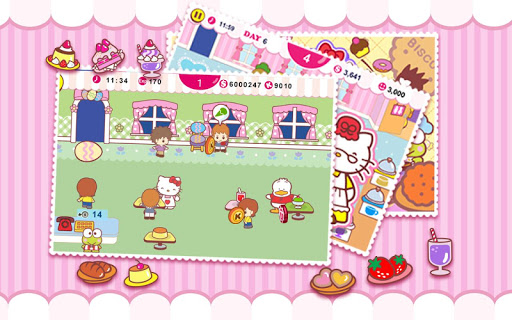 Hello Kitty Cafe Seasons 1.1.1 screenshots 2