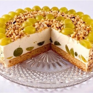 Cottage Cheese And Fruit Cake Without Baking.