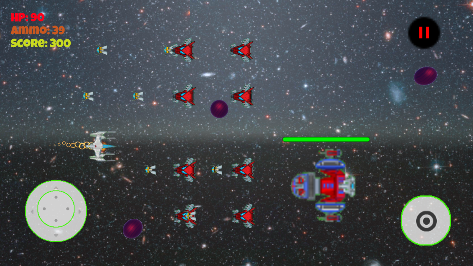 Vintage Space Attack- screenshot