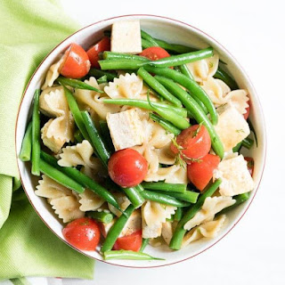 Summer Tofu and Pasta Salad.