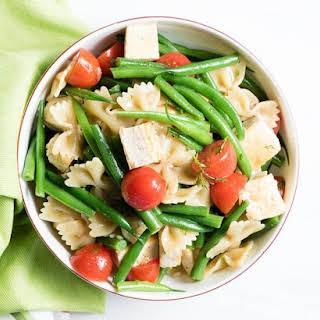 Summer Tofu and Pasta Salad.