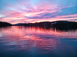Photo: Sunset in St Agathe des Monts