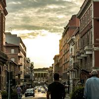 La lunga passerella cittadina di