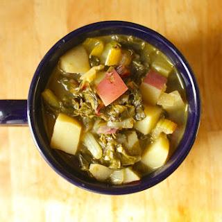 Rainbow Chard and Potato Soup