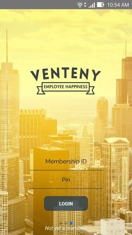 Venteny Membership- screenshot