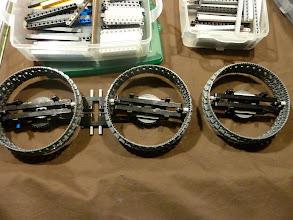 Photo: The three gears