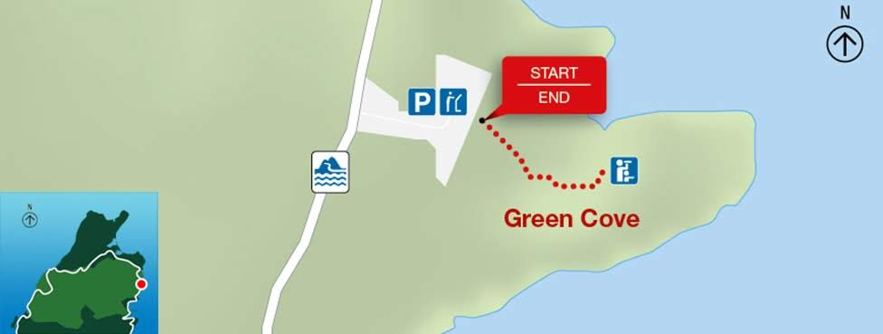 Green Cove, Park Narodowy Cape Breton Highlands