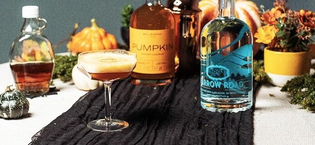 Halloween drinks from Elevation 5003 Distillery