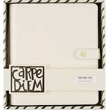 Simple Stories Carpe Diem A5 Planner Boxed Set - Ivory Posh UTGÅENDE