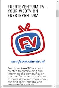 Fuerteventura TV for PC / Windows 7, 8, 10 / MAC Free