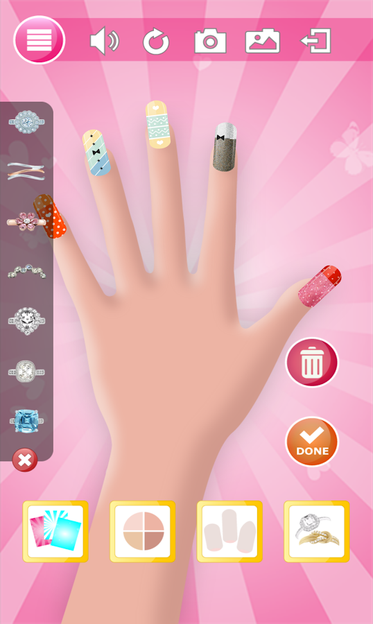 Manicure game girls nail salon android apps on google play for A nail salon game