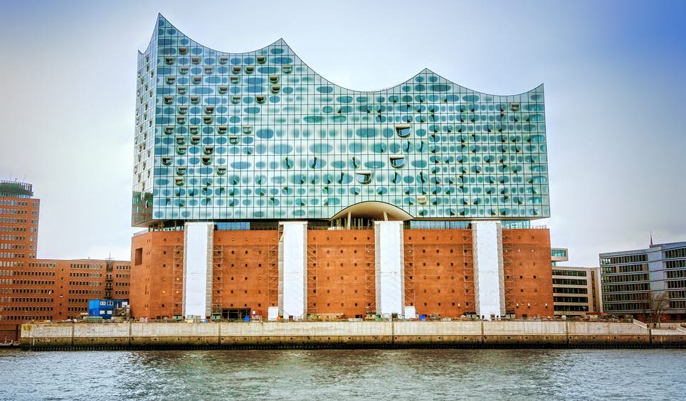 The Elbphilharmonie concert hall in Hamburg's chic HafenCity area  © carol.anne / Shutterstock