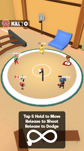Dodgeball.io screenshots 2