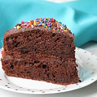 Best Ever Double Chocolate Fudge Layer Cake Recipe