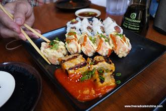 Photo: Nothing like California sushi!
