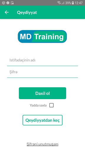 MD Training screenshot 5