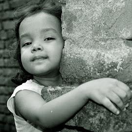 by Mihir Ranjan - Babies & Children Child Portraits ( girl child, a portrait of a girl, child portrait, the portrait of  aryaa., portrait of girl, girl portrait )