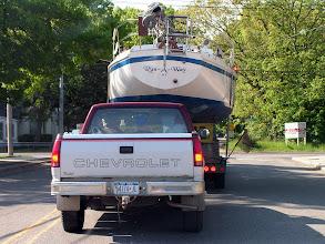 Photo: На дороге в порт/ En route to port