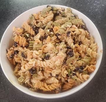 Tex-Mex-style pasta salad