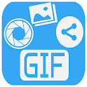 GIF Maker And Share icon
