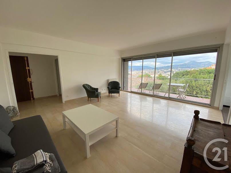 Location meublée appartement 2 pièces 62 m² à Nice (06300), 1 190 €