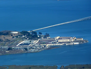 Photo: San Quentin from top of Mt Tam, a safe distance