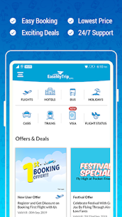 Download EaseMyTrip – Cheap Flights, Hotels, Bus & Holidays App For Android 1